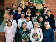 """1 выпуск воскресной школы """"Вертоград"""" 2002 г."""