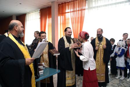Выпуск воскресных школ Серпуховского благочиния 2009